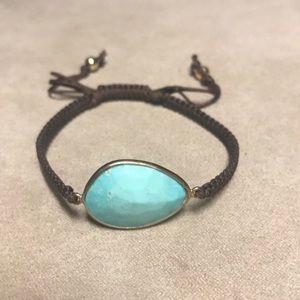 Tai turquoise bracelet